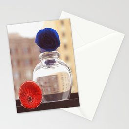 Glass Flowers Stationery Cards