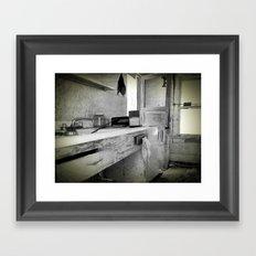 Blurred Vision Framed Art Print