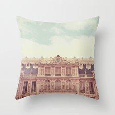 Chateau Versailles Throw Pillow