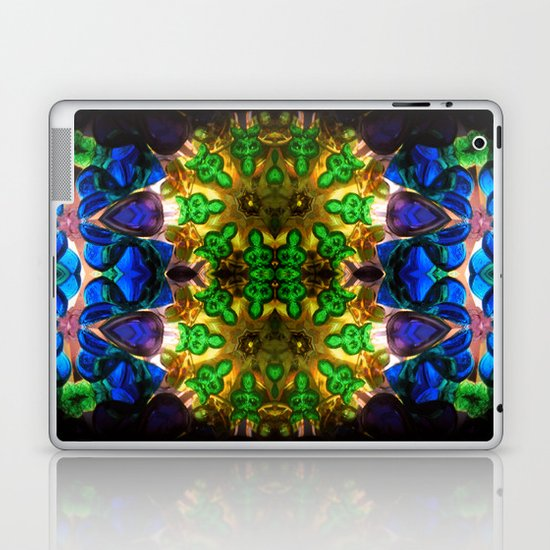 Kaleido: Blue, Green, Yellow Laptop & iPad Skin