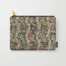 Wild Wild William Morris Variation I Carry-All Pouch