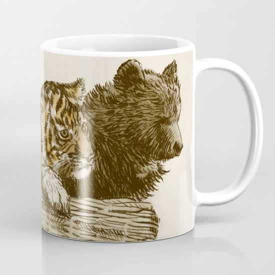 Lions and Tigers and Bears Mug