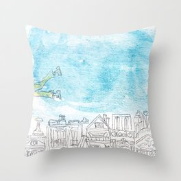 Volant Throw Pillow