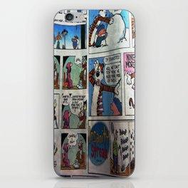 Comic Style iPhone Skin