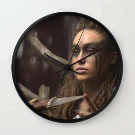 Lexa 01 Wall Clock
