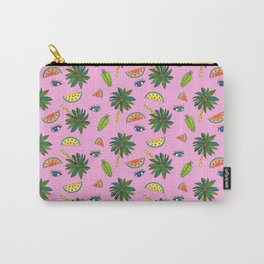 Archie & Co. Sophie Print (Pink) Carry-All Pouch