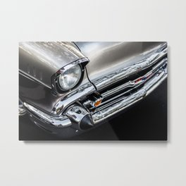 Bel Air Headlight Metal Print