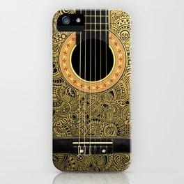 Black Gold iPhone Case