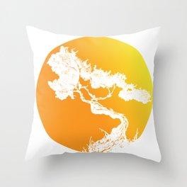 Judaism acacia thorn bush bible god gift Throw Pillow