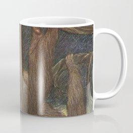 Vintage Sloth Painting (1909) Coffee Mug