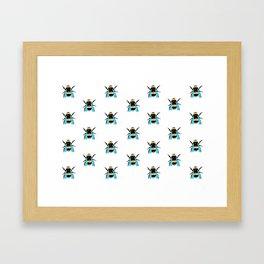 Bees Framed Art Print