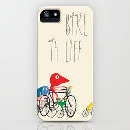 Bike is Life iPhone Case
