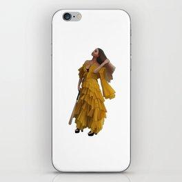 Queen Bey Hold Up digital artwork iPhone Skin