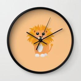 Cute kawaii lion T-Shirt for all Ages Da3cq Wall Clock