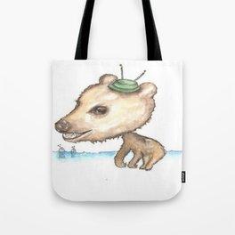 NORDIC ANIMAL - BOBO BEAR / ORIGINAL DANISH DESIGN bykazandholly  Tote Bag