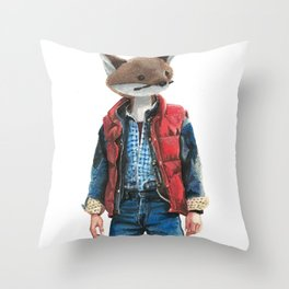 Michael J. Fox Throw Pillow