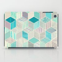 bedding iPad Cases featuring Vacation Patchwork by micklyn