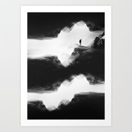Hello from the The Upside Down World Art Print