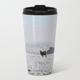 Winter Sheep Travel Mug