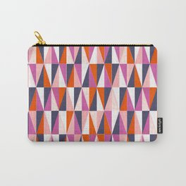a harlequin party in pink! Carry-All Pouch