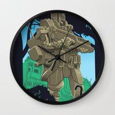 Robotic Warfighter MK.5D (devGrob) Wall Clock