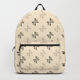 Brotherhood symbol Backpack