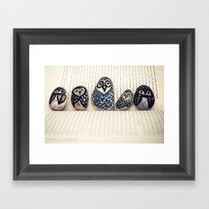 Owly Owl Yeah Framed Art Print
