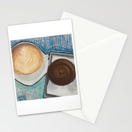 Cupcake and Coffee Stationery Cards