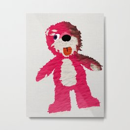 Breaking Bad Teddy Bear Metal Print