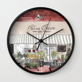McKinney Square Shop Wall Clock