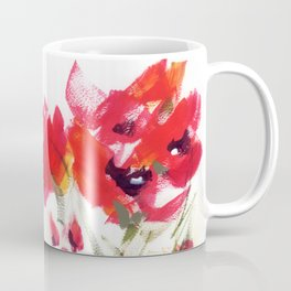 Red Poppy Graphic Coffee Mug