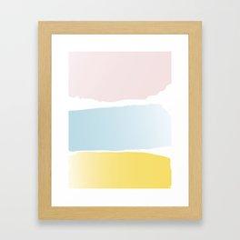Beachtime Framed Art Print