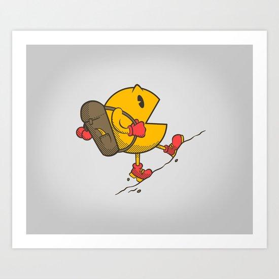 Do you like to bac-pac? Art Print
