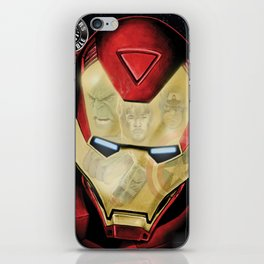Avengers Reflection iPhone Skin