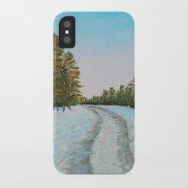 Frozen Path iPhone Case
