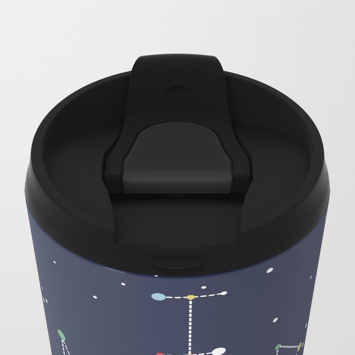 I Need Some Space Metal Travel Mug