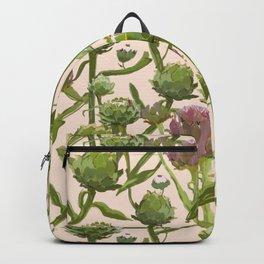 artichoke flowers Backpack