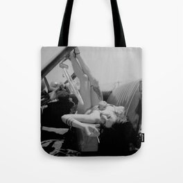 Chola Bad Ass Bitch Smokes Tote Bag