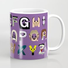 Horror Icon Alphabet Mug