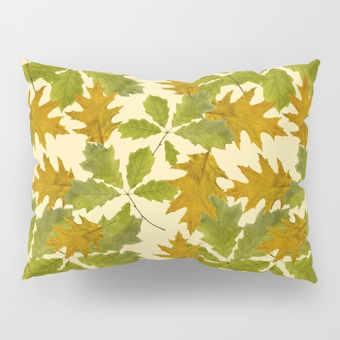 Leaves Camouflage Pattern Pillow Sham