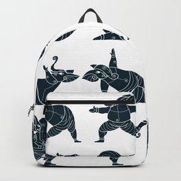 Ganesha Yoga Sq Backpack