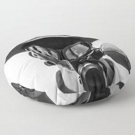Gas Mask Floor Pillow