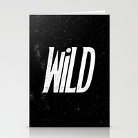 into the wild Stationery Cards featuring Wild by Josh LaFayette