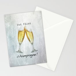 Champagne! Stationery Cards