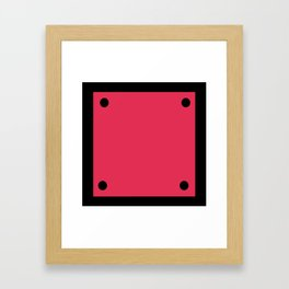 Video Game General Block Framed Art Print
