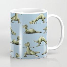 Yogasaurs (Blue) Coffee Mug
