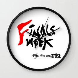Finals Week... Wall Clock