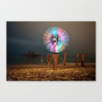 cabin pressure Canvas Prints featuring Pressure. by Pooka Photography