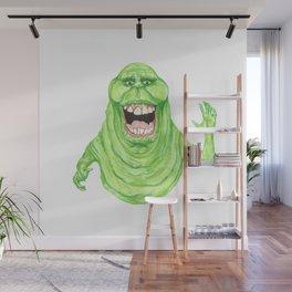 Slimer Wall Mural