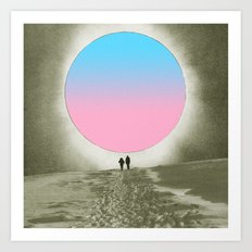 Looking for colors Art Print